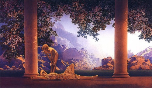 Maxfield Parrish- Daybreak