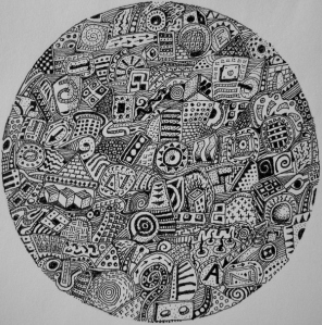 Ball of Confusion- Artist Jerry Thompson