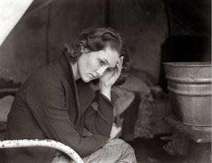 Dorothea Lange- 1936 Daughter of a Migrant Coal Miner