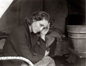 Dorothea Lange- 1936 Daughter of a Migrant Coal Miner