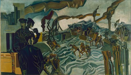 A Battery Shelled- Wyndham Lewis