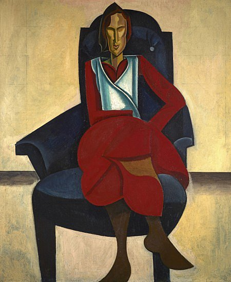 Wyndham Lewis- Seated Figure