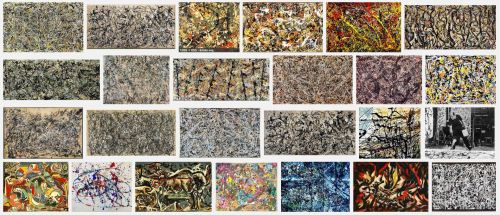 Jackson Pollock Google Screenshot