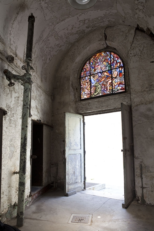 Judith Schaechter Eastern State Penitentiary Project