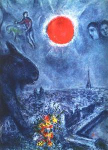 Marc Chagall Sun of Paris