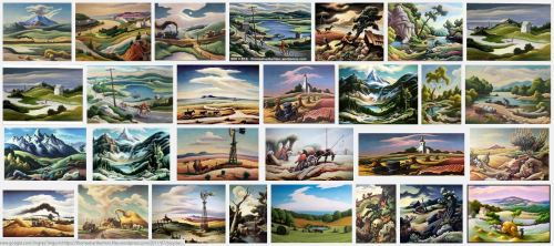 Thomas Hart Benton Google Screenshot