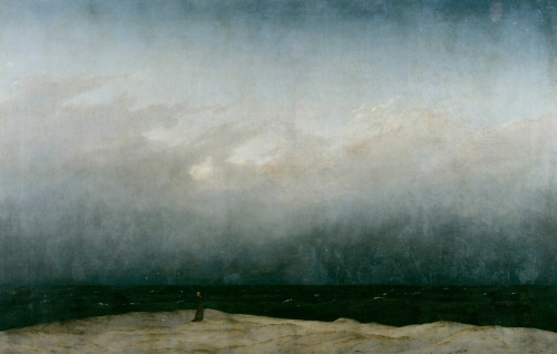 Caspar David Friedrich- Monk by the Sea