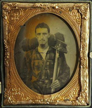 Civil War Soldier Dageurrotype