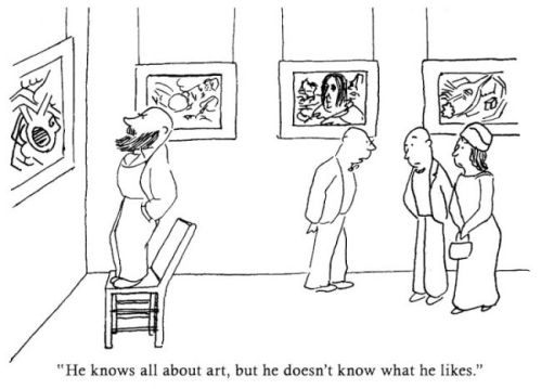 James Thurber Cartoon Art Critic