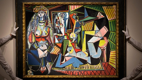 pablo_picasso_les_femmes_d_alger_  Photo by Christies