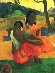 Paul Gauguin- When Will You Marry?