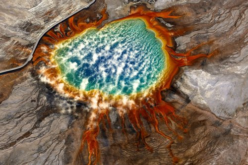 Grand Prismatic Spring Yellowstone Wyoming Photo by Jassen T.