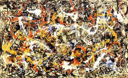 Jackson Pollock -Convergence 1952