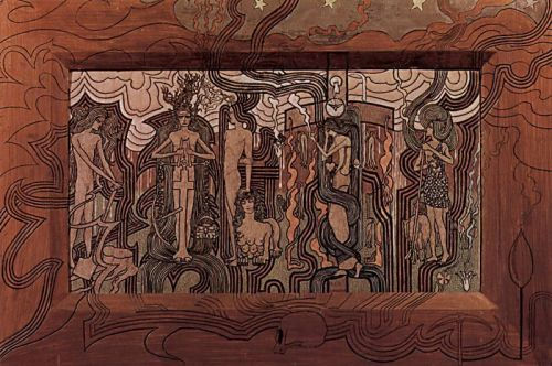 Jan Toorop The Song of Time 1893