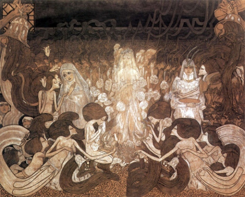 Jan Toorop Three Brides