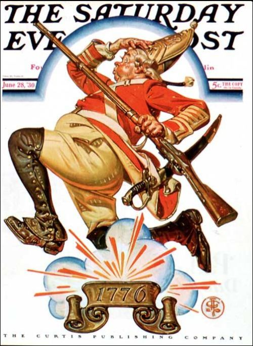 Leyendecker 4th of July SEP cover 1930