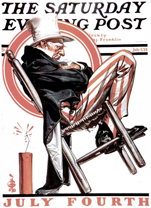 saturday-evening-post-j-c-leyendecker-sleeping-uncle-sam-1924