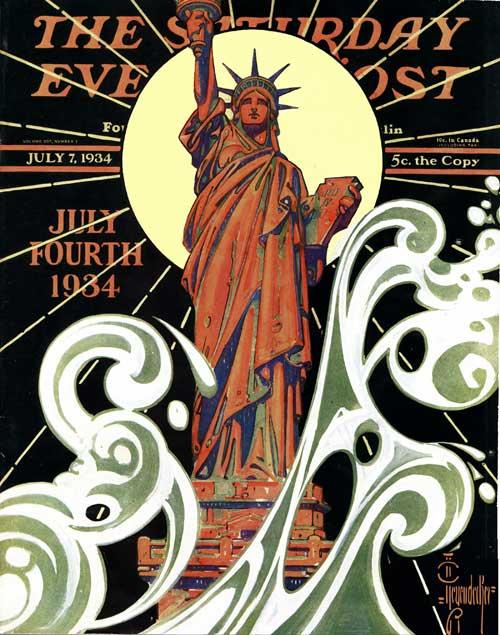 Saturday-Evening-Post-J.C.-Leyendecker-Statue-of-Liberty-1934-