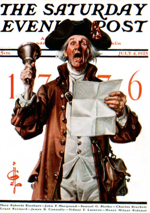 Saturday-Evening-Post-J.C.-Leyendecker-Town-Crier-1925-