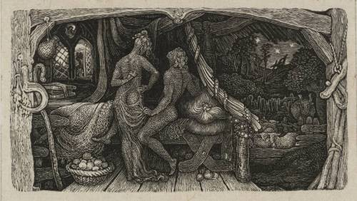 The Chamber Idyll 1831 Edward Calvert 1799-1883