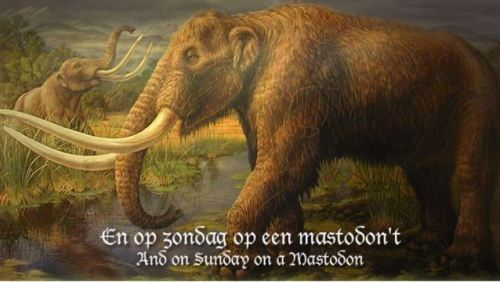 Heidevolk Sunday on a Mastodon Vulgaris Magistralis
