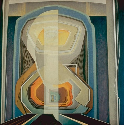 Lawren Harris- Abstract Painting #20