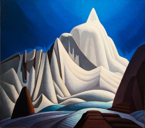 Lawren Harris- Mountains in Snow 1929