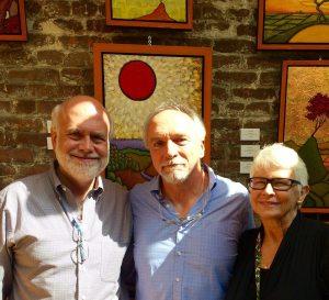 Leija and Scott DeLisi with me Principle Gallery Talk 2015