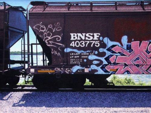 Scott Coulter -BNSF 403775 18x24