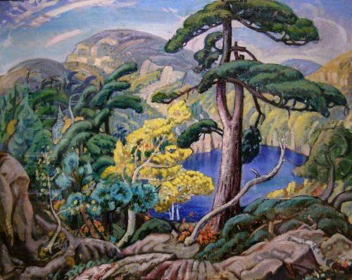Arthur Lismer-Bright Land -1938