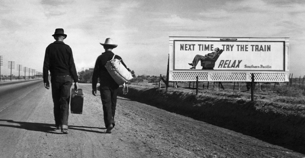 Dorothea Lange Next Time Try the Train