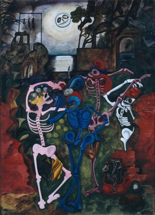 Edward Burra- Dancing Skeletons 1934