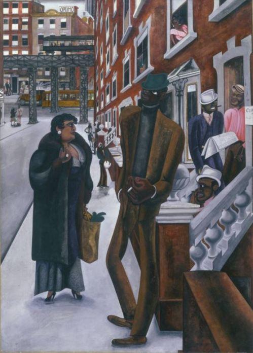 Edward Burra Harlem 1934