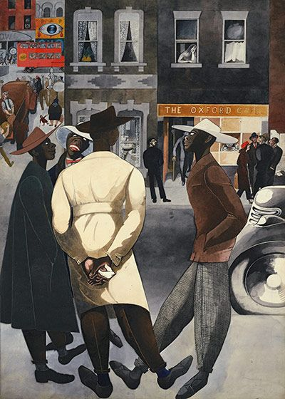 Edward Burra Zoot Suits 1948