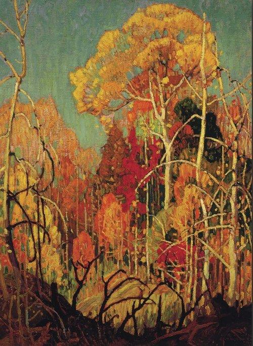 Franklin Carmichael - Autumn in Orillia-1924