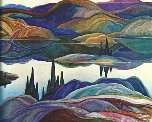 Franklin Carmichael-Mirror-Lake-1929