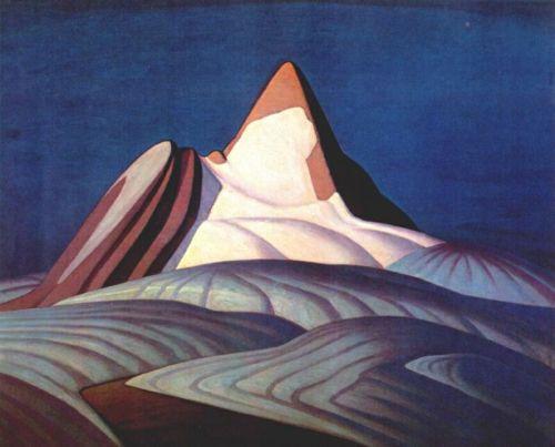Lawren Harris- Isolation Peak -1931