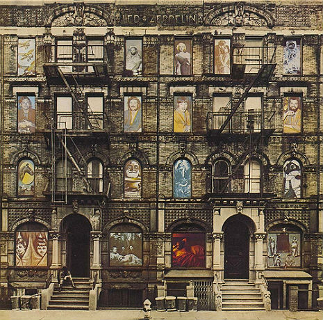 Led Zeppelin Physical Graffiti Album Cover 1975