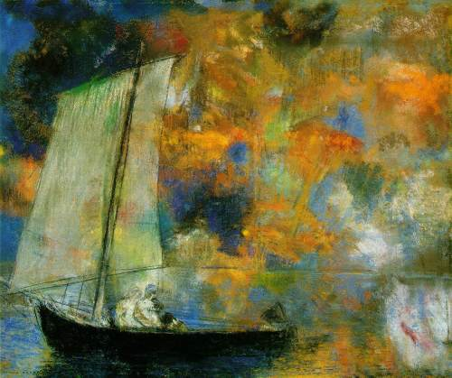 Odilon Redon Flower Clouds 1903