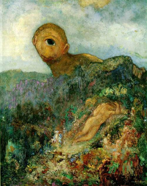 Odilon Redon- The Cyclops 1914