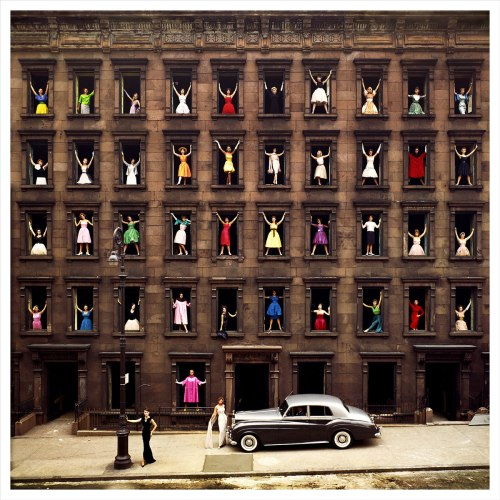 Ormond Gigli  Girls InTh Windows New York 1960 --Stanley-Wise Gallery NYC