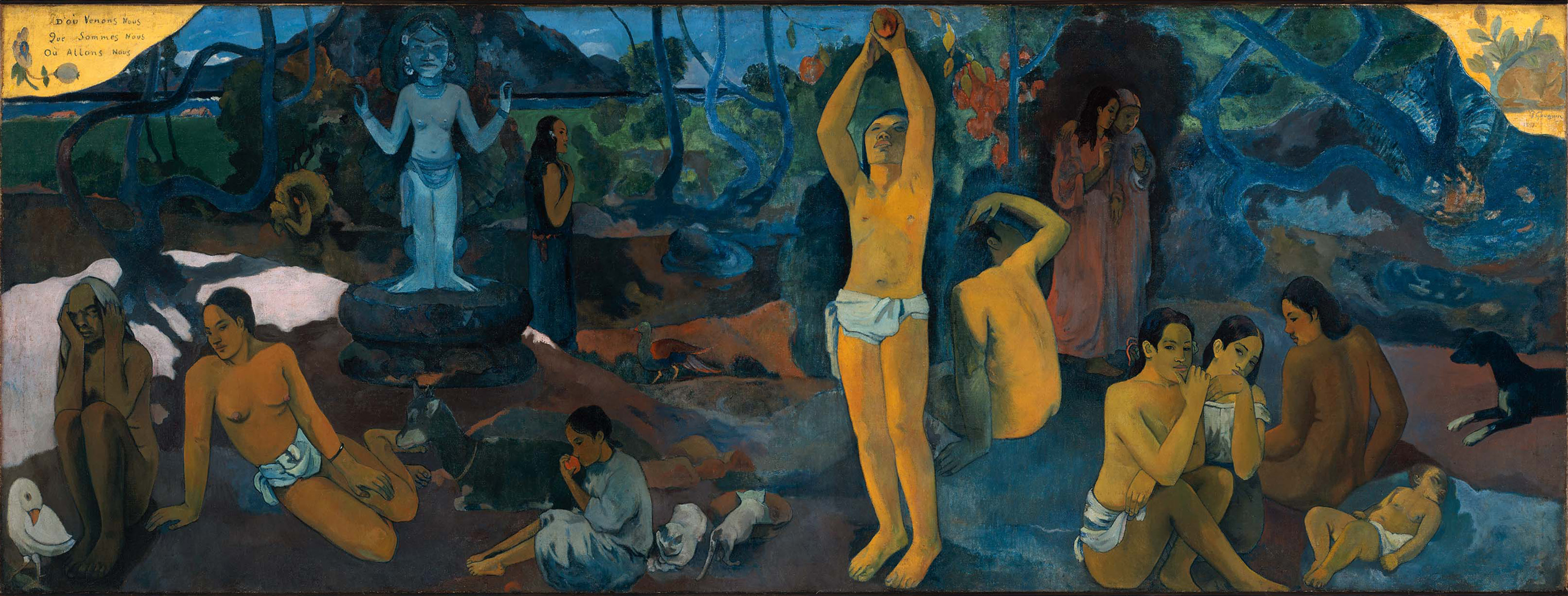 Paul Gauguin- Where Do We Come From? What Are We? Where Are We Going?