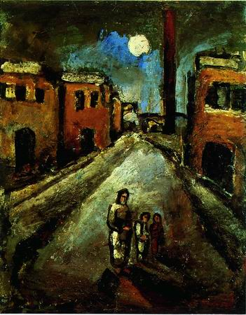 Georges Rouault -Christ in the Suburbs 1920-24