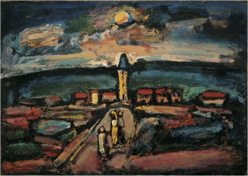 Georges Rouault Sunset 1937