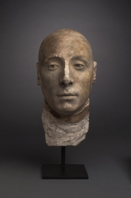 Lafayette Life Mask- Johnson Museum Cornell University