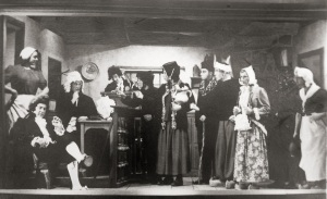 POW Theatre Production at Aliceville Alabama Camp WW II