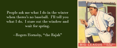 Rajah Hornsby Quote