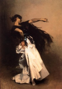 Sargent_John_Singer_Spanish_Dancer Study for El Jaleo