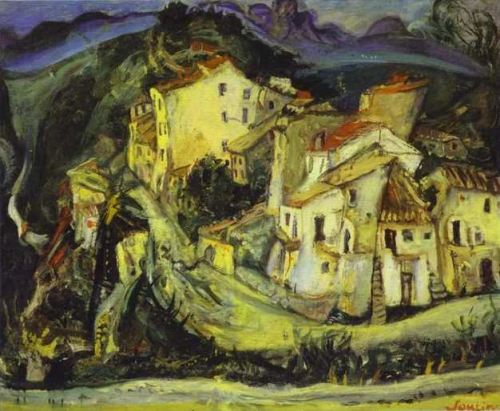 Chaim Soutine Houses of Cagne