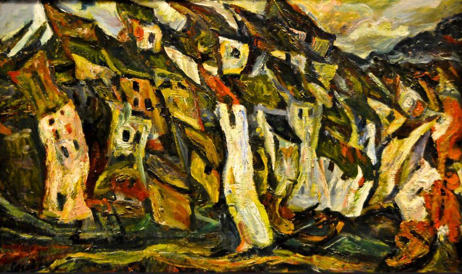 Chaim Soutine Les Maisons 1921